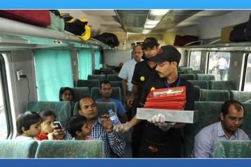 Fast food on fast trains, dominos, McDonald, fast food, Shatabdi Express, Shatabdi trains, Rajdhani trains, KFC, Switz Foods, Haldiram, Bikanerwala ad Nirulas, Shatabdi, Rajdhani, Premium Trains, Humsafar, Suresh Prabhu, Railways, indian railways, railway minister suresh prabhu, travel and food, fast foods in indian trains, irctc, irctc meals, indian railways meals, irctc food chains, irctc food order, indian railways pre book food, pre-order meal, startupstories, startup stories india, startupstories 2017, Online food order railways, Fast food Indian railways, Food order Indian railways, e-catering services