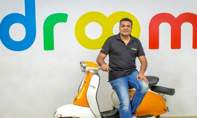 Droom Raises Funds,Latest Funding Round,Business News 2018,Best Startups in India 2018,Latest Startup News India,startup stories,Startup Funding Round,Latest E Series Funding Round,Online Automobile Startup Droom,Droom Founder Sandeep Agarwal