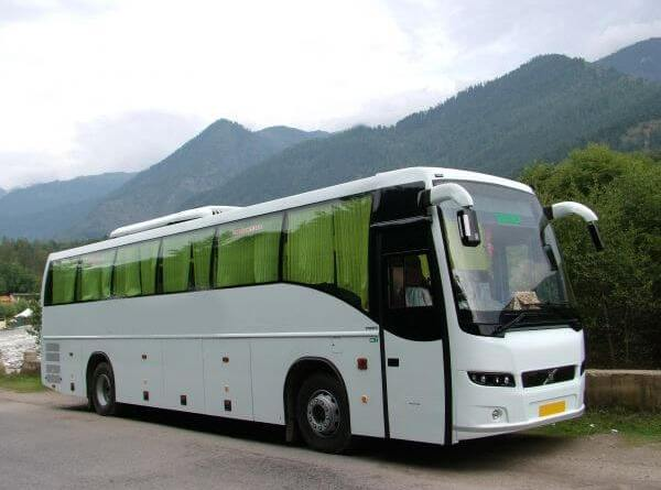 Delhi to Chandigarh Volvo Bus
