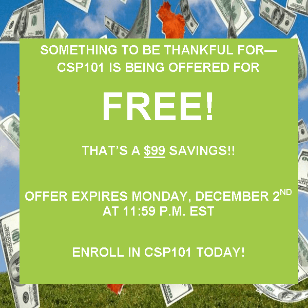free CSP 101