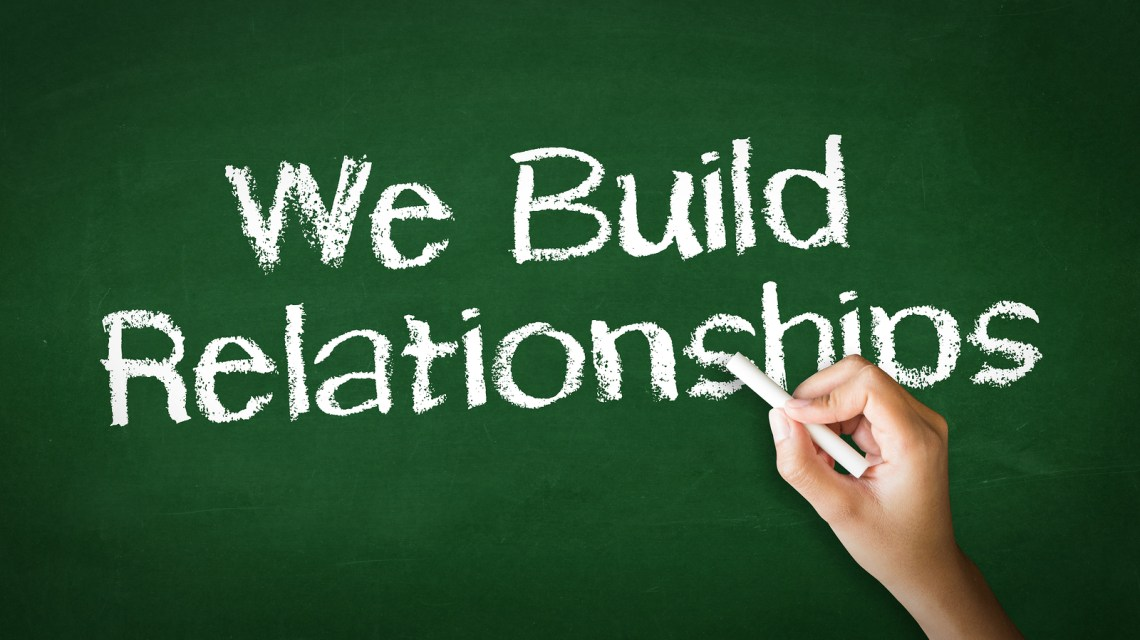 we build customer relationships