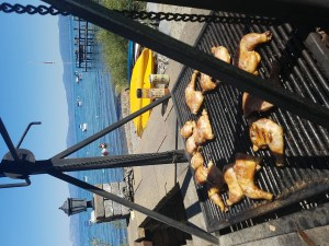Que With a View: Chicken Quarters on Lake Tahoe
