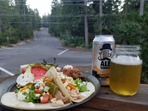 Taco Tuesday!  Chicken & Pork Tacos Paired with Alibi Ale Works' Saison