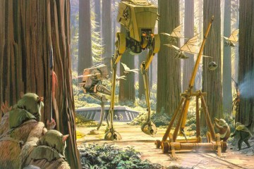 Behind the Scenes: Endor