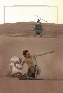 BB-8 en Rey op Jakku - door Brian Rood