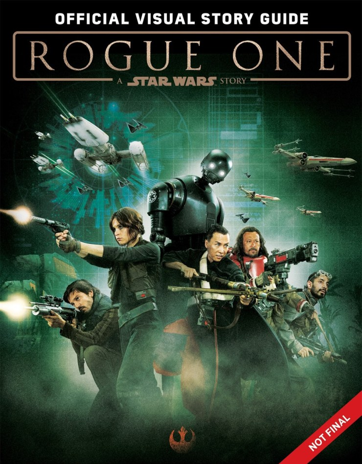 Rogue One Visual Story Guide Cover