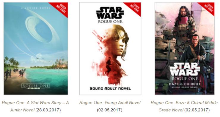 Nieuwe Star Wars boeken