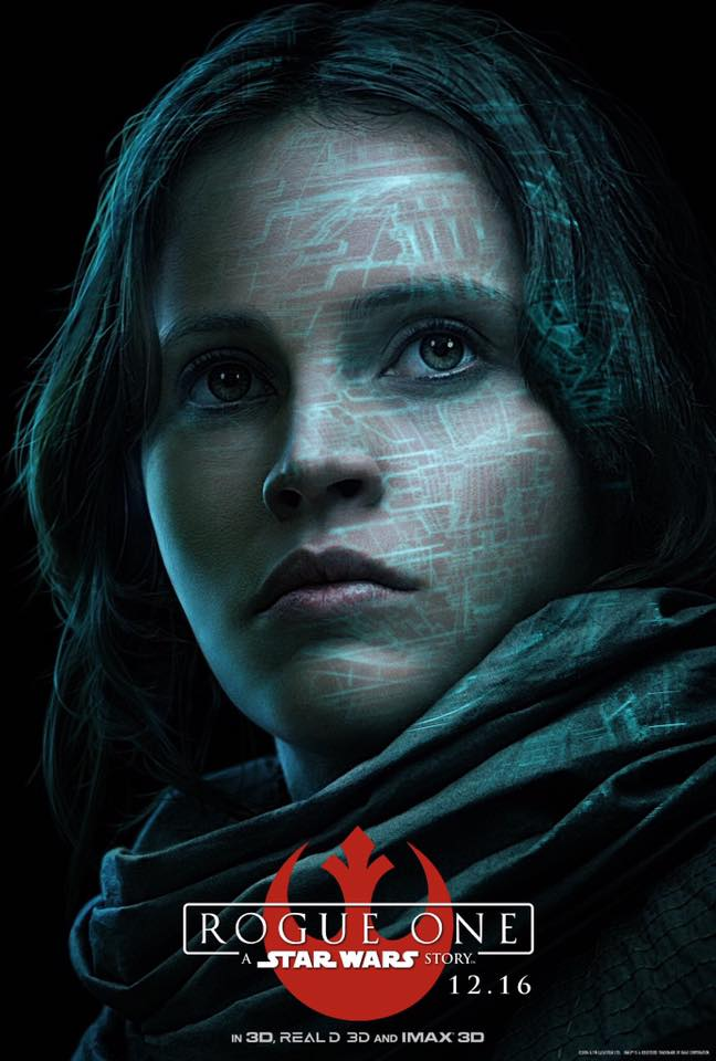 Rogue One Posters - Jyn Erso