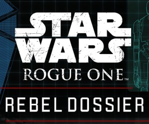 Rogue One Rebel File Cover