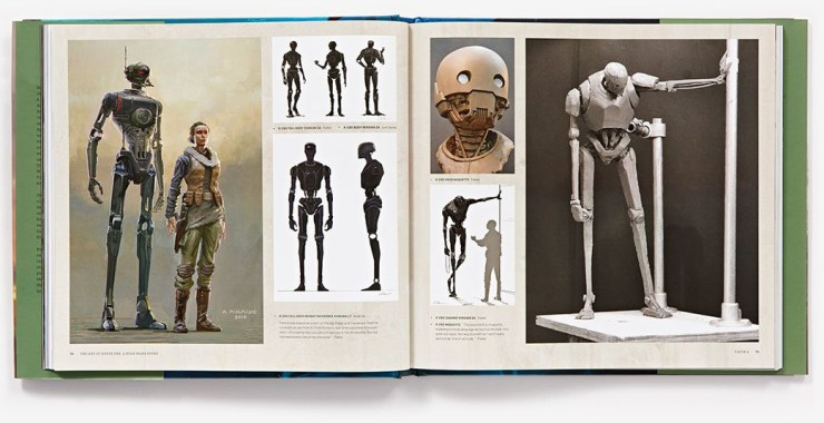 The Art of Rogue One - K-2SO Pagina