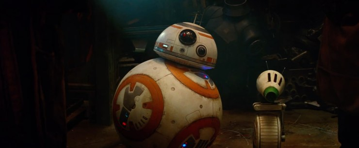 En dan door naar onze vriend BB-8 en zijn nieuwe maatje, een wiel droid genaamd D.O. En de droid builders gaan hier weer een hoop plezier aan beleven. D.O. is niet veel meer dan een wiel met een hoofd dat doormiddel van een arm aan dat wiel vast zit en vrij kan bewegen!
