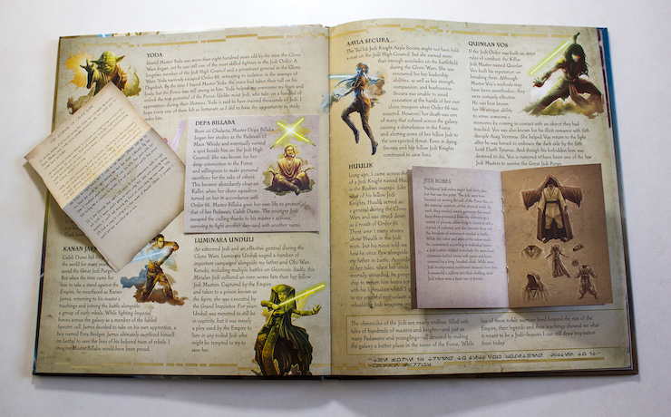 The Secrets of the Jedi - Interne pagina's