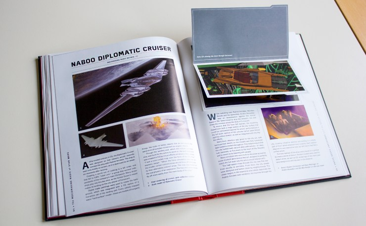 The Moviemaking Magic of Star Wars: Ships + Battles - Interne pagina's - Nabook Cruiser & Coruscant Chase Scene
