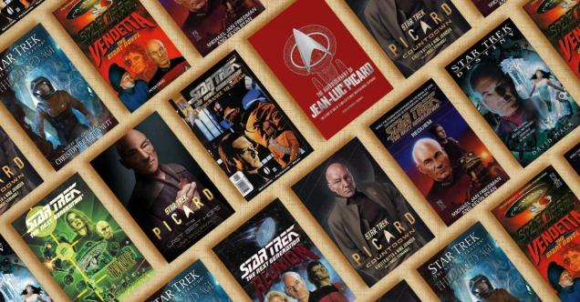 10 Jean Luc Picard Books You Need to Read Right Now