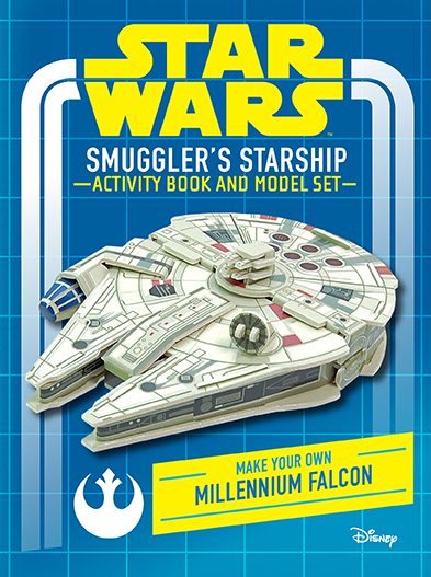 Star Wars: Smugglers Starship Activity Book and Model   Insight Editions