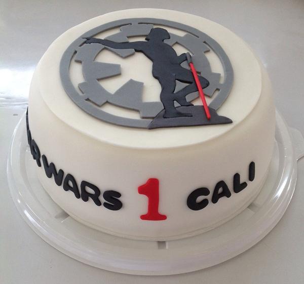 La torta de nuestro primer aniversario