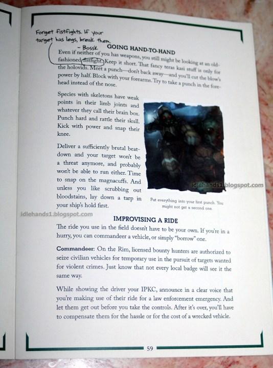 The Bounty Hunter Code 004