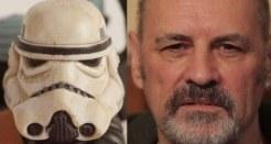 """Sandtrooper - Anthony Forrest. Al cual Obi Wan le dice """"Estos no son los droids que busca"""""""