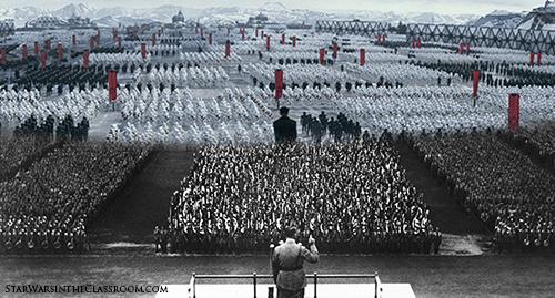 Image result for star wars empire nazi symbolism