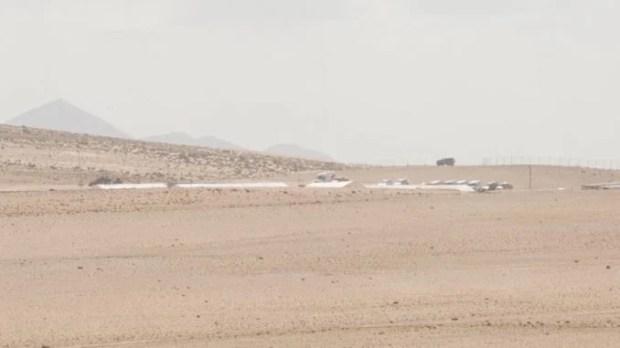 Début de la mise en place de la deuxième Star Wars Story sur Han Solo à Fuerteventura.