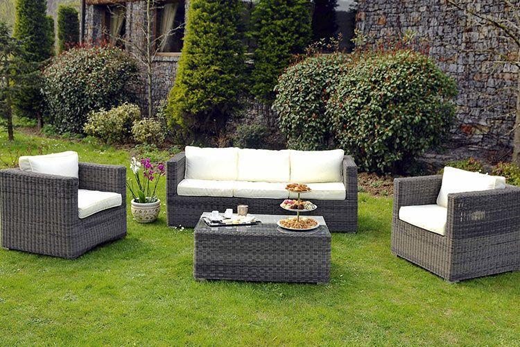 mobilier jardin resine tressee starwax