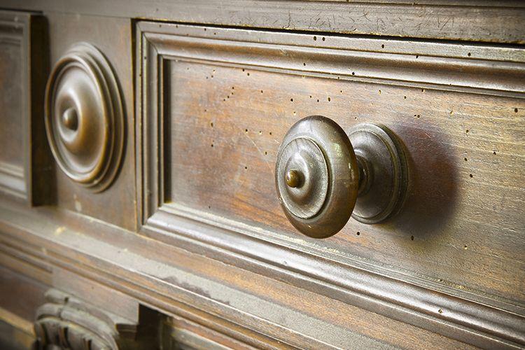meuble vintage en bois comment lui