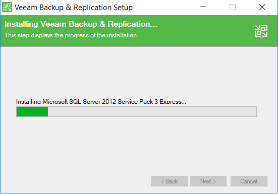 Installing Veeam Backup and Replication view