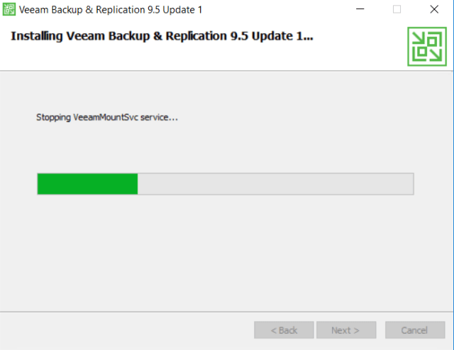 Installing Veeam Backup and Replication 9.5 Update 1 view