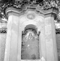 Detail východní výklenkové kaple
