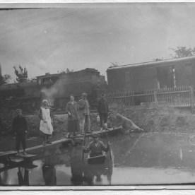Při povodni roku 1926