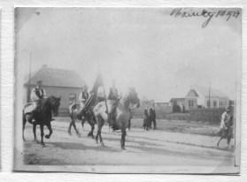 Dožínky, srpen 1927