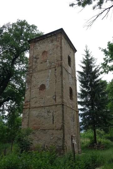 barokní vodárenská věž v Nových Dvorech
