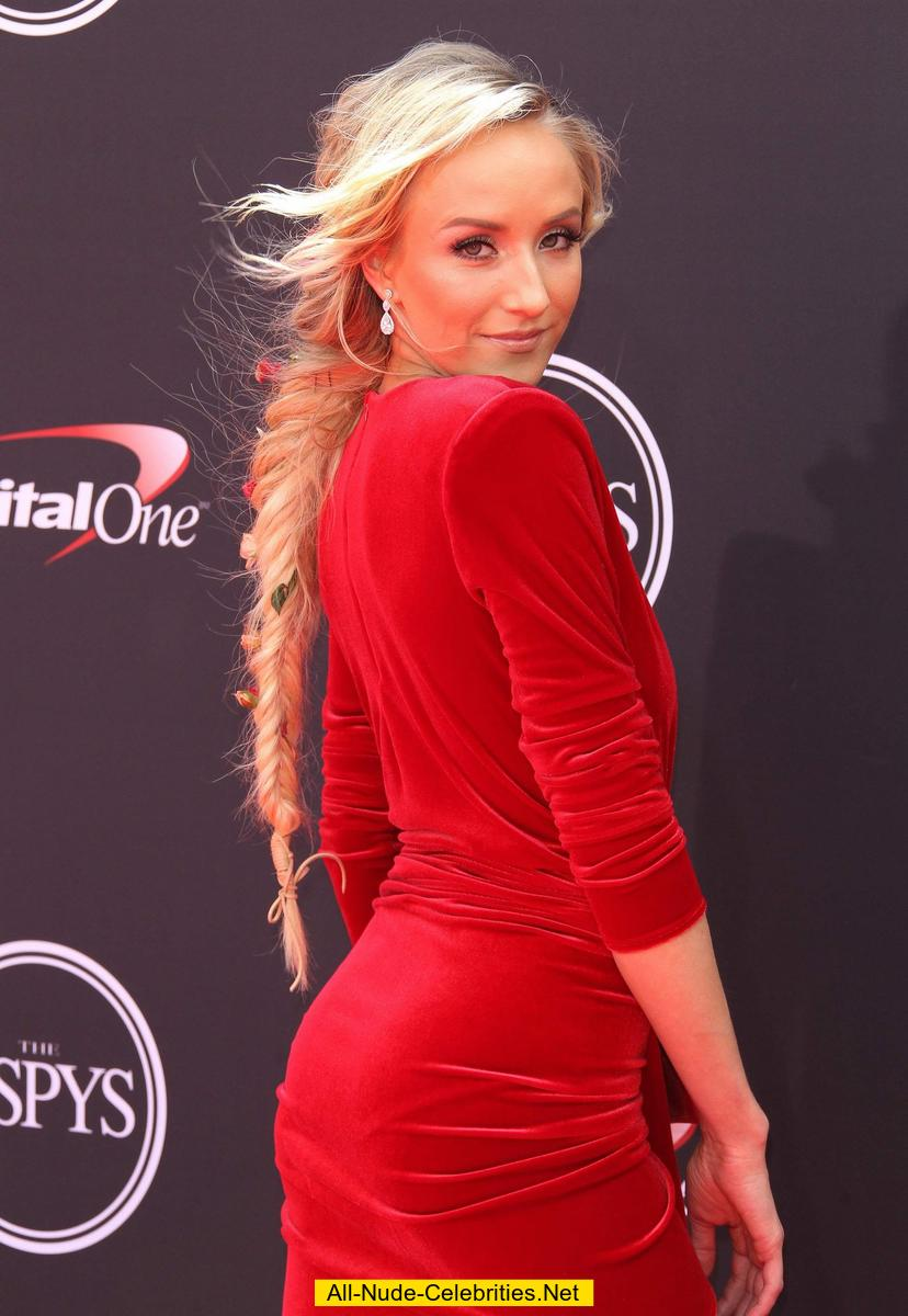Nastia Liukin In Red Dress At The 2018 Espys Awards
