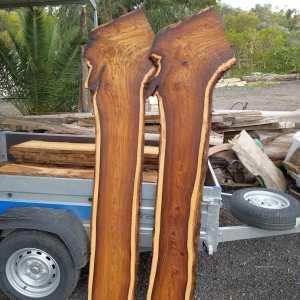 פלטות עץ סיסם הודי צורה A