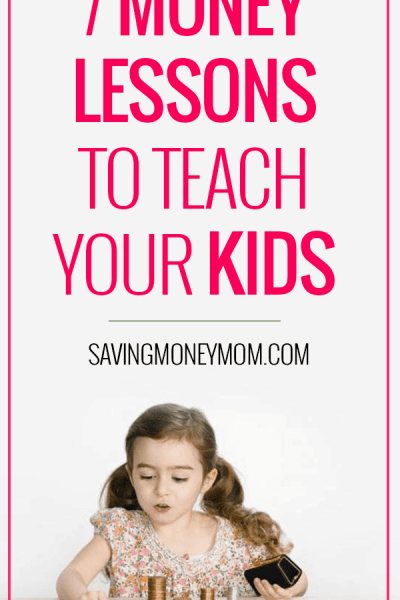7 money lessons you can teach your kids