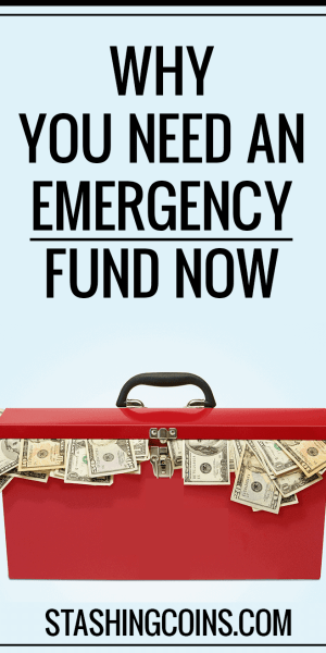 An emergency fund helps you avoid taking up more debt.