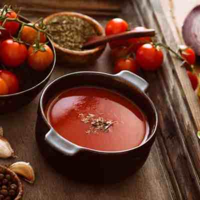 Quick bargain tomato soup