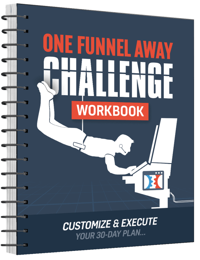 One Funnel Away Challenge Review workbook