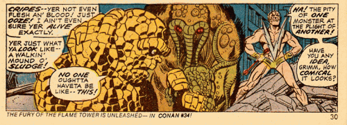 Marvel Two-In-One #1 Panel 1