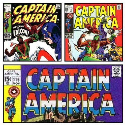 Captain America #117-119
