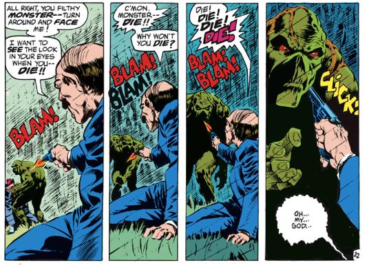 Lein Wein & Bernie Wrightson, Swamp Thing #1