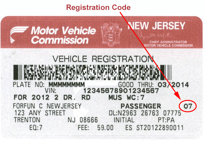 Nj car registration renewal form 11