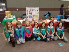 Troop 40215 prepared a display honoring Egypt.