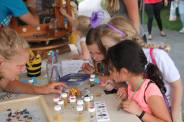 Daisies learn about insects at Wings in the Park