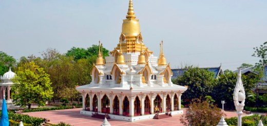 Wat Thai Temple in Kushinagar