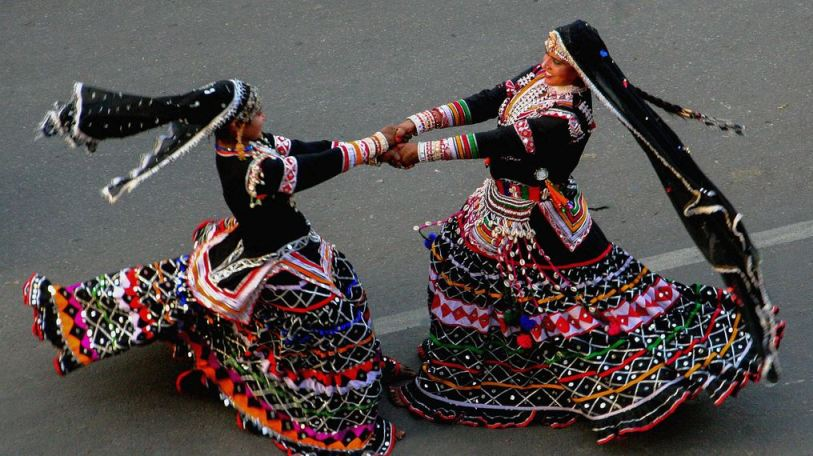 Folk Dance in Mewar Festival