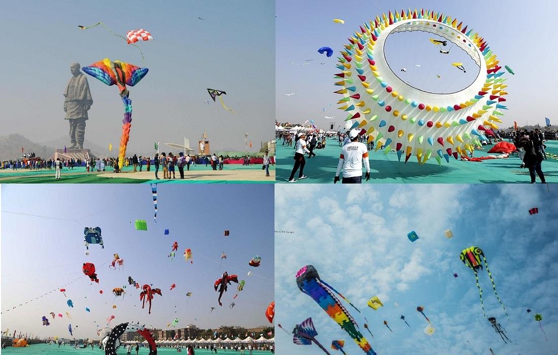 Kite festival Gujarat