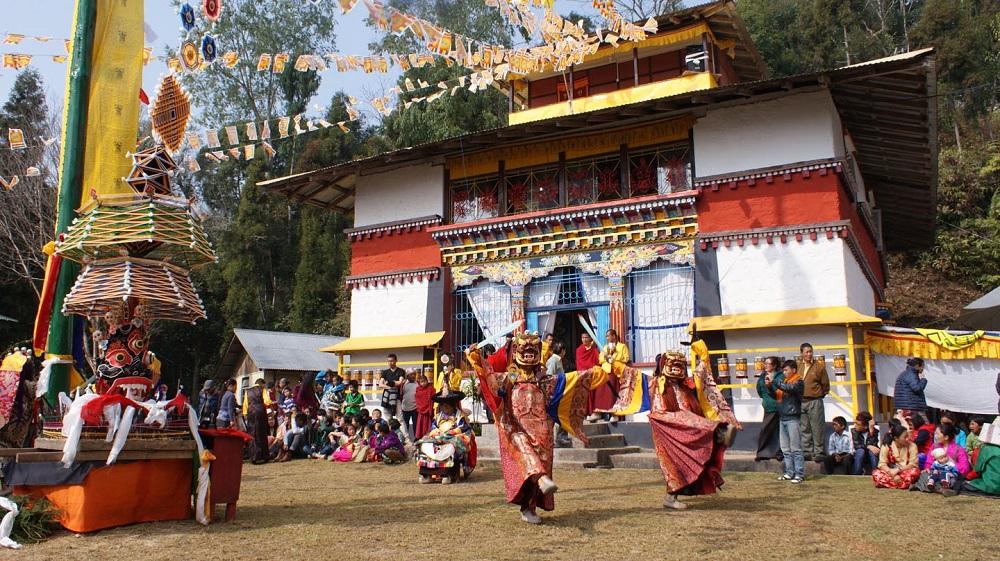 Rumtek chaam Festival