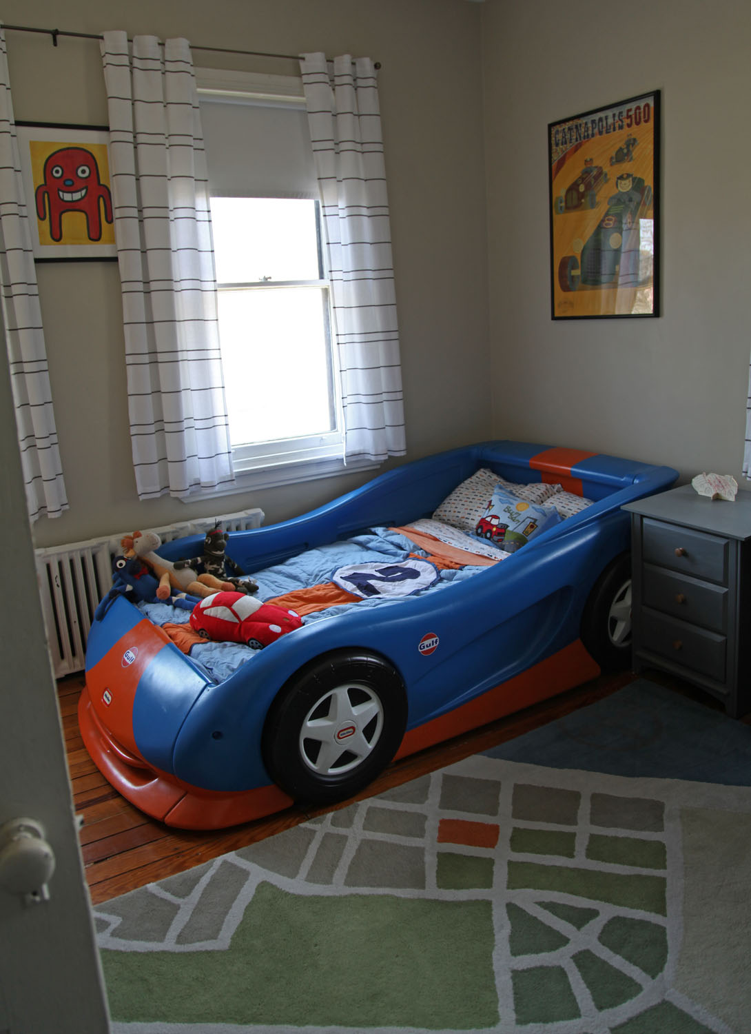 Sams Room Amp The LeMans Gulf Livery Car Bed Stately Kitsch