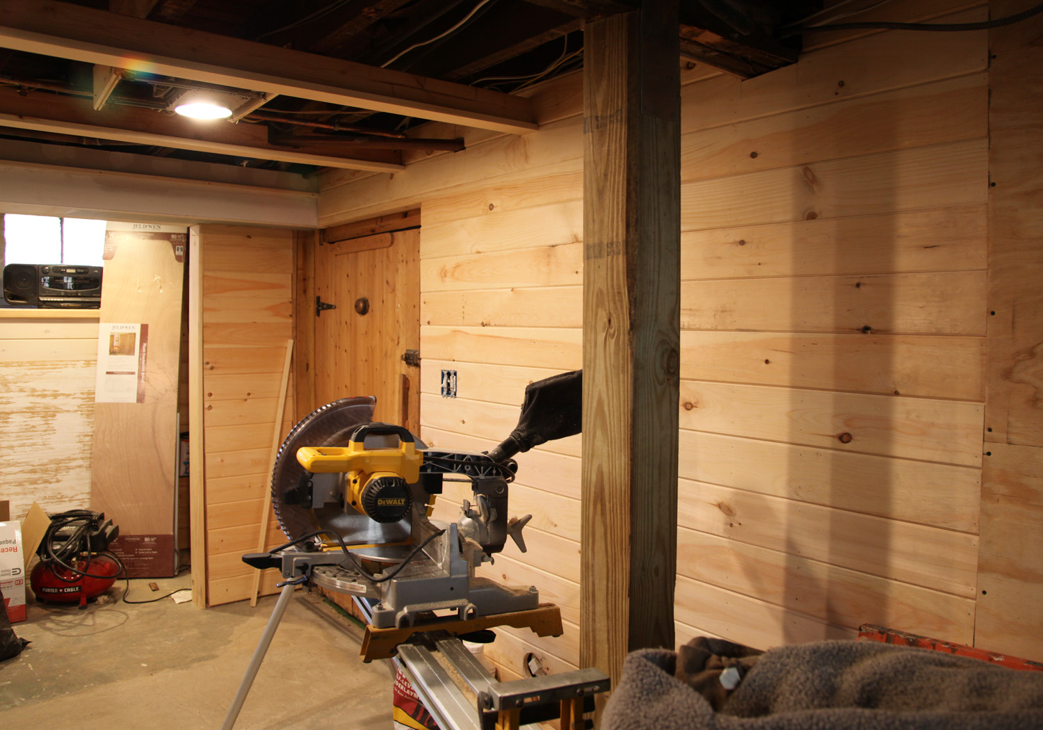 our basement part 31 ceiling led recessed lights more beadboard stately kitsch